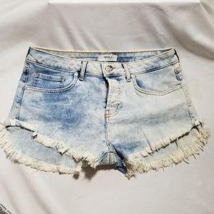 Forever 21 Denim Jean Shorts Womens Size 30